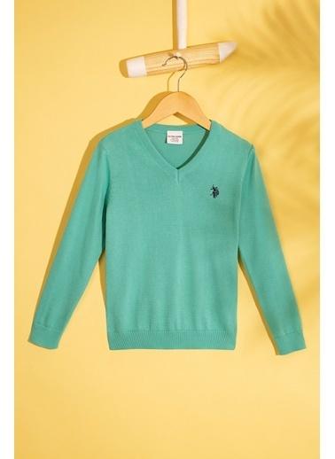 U.S. Polo Assn. Kazak Yeşil